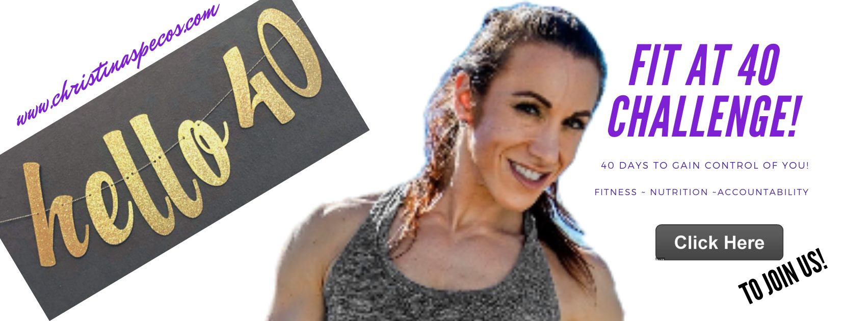 The Fit in 40 Days Challenge is here!